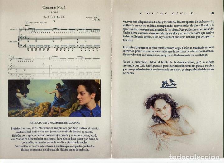 Cine: RETRATO DE UNA MUJER EN LLAMAS, de Céline Sciamma. 21 X 15 cms.. - Foto 2 - 183579588