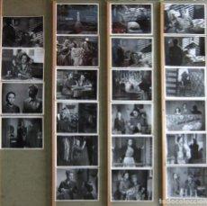 Cine: F30839 CIELO NEGRO SUSANA CANALES FERNANDO REY 21 FOTOS ORIGINALES B/N ESPAÑOLAS CLAUDIO GOMEZ GRAU. Lote 183772431