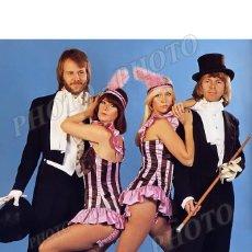 Cine: ABBA AGNETHA FALTSKOG BENNY ANDERSSON BJORN ULVAEUS ANNI FRIDA LYNGSTAD FOTO. Lote 184574301