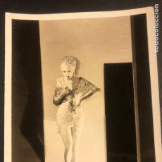 Cine: FOTO ORIGINAL MGM DE BILLIE DOVE 25 X 20 CM. Lote 185703005