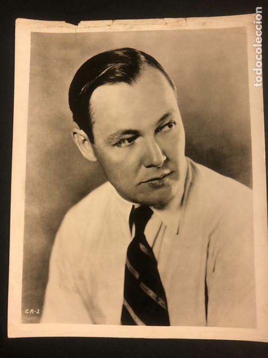 FOTO ORIGINAL MGM DE CHARLES RAY 25 X 20 CM (Cine - Fotos y Postales de Actores y Actrices)