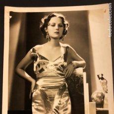 Cine: FOTO ORIGINAL MGM DE DOROTHY JORDAN 25 X 20 CM. Lote 185977973