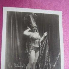 Cine: FOTOGRAFIA DE LUPE RIVAS CACHO ARTISTA CINE MEDIDAS 2OX25 CM. ORIGINAL AÑOS 20 30 . Lote 186349222