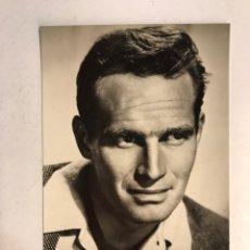 Cine: CINE. ACTORES. FOTO POSTAL, CHARLTON HESTON NO. 7146. EDICION ARCHIVO BERMEJO. (H.1950?). Lote 186349482