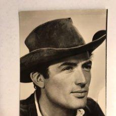 Cine: CINE. ACTORES. FOTO POSTAL, GREGORY PECK, NO. 4046, EDICION ARCHIVO BERMEJO. (H.1950?). Lote 186349752