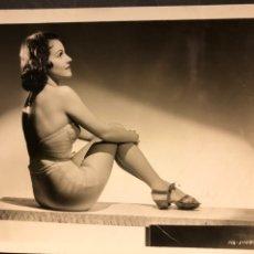 Cine: FOTO ORIGINAL MGM DE ELEANOR STEWART 25 X 20 CM. Lote 186404588