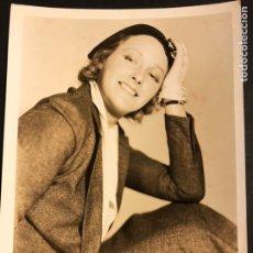 Cine: FOTO ORIGINAL MGM DE ELEANOR BOARDMAN 25 X 20 CM. Lote 186410075