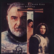 Cine: P-8526- EL PRIMER CABALLERO (FIRST KNIGHT) (FICHA PELICULA) RICHARD GERE - SEAN CONNERY. Lote 187092535