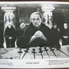 Cine: THE FINAL CONFLICT - FOTO ORIGINAL B/N - EL FINAL DE DAMIEN (LA PROFECÍA 3) ROSSANO BRAZZI. Lote 187199157
