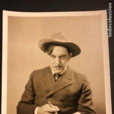 Cine: FOTO ORIGINAL MGM DE HARRY CAREY 25 X 20 CM. Lote 187467142