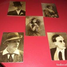 Cine: 33 FOTOCROMOS DE UNA COLECCIÓN DE 42 . ACTORES Y ACTRICES .PUBLICIDAD CHOCOLATES ESTEBAN SABATER. Lote 189211058