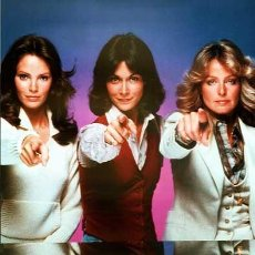 Cine: ANGELES CHARLIE KATE JACKSON FARRAH FAWCETT JACLYN SMITH CHARLIE´S ANGELS TV 1976 FOTO. Lote 221627857