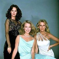 Cine: ANGELES CHARLIE JACLYN SMITH CHERYL LADD SHELLEY HACK CHARLIE´S ANGELS TV 1976 FOTO. Lote 189442775