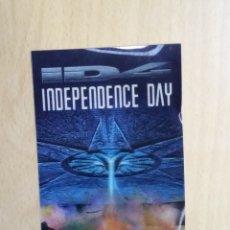 Cine: INDEPENDENCE DAY ID4. HOLOGRAMA DE LA PELÍCULA CON LAS FIRMAS DE DEAN DEVLIN Y ROLAND EMMERICH. 1996. Lote 189498415