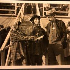 Cine: FOTO ORIGINAL DE SLIM SUMMERVILLE.CINCO MINUTOS 25 X 20 CM. Lote 190100593