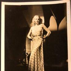 Cine: FOTO ORIGINAL MGM DE VIRGINIA BRUCE 25 X 20 CM. Lote 190136295