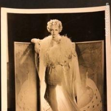 Cine: FOTO ORIGINAL MGM DE VIRGINIA BRUCE 25 X 20 CM. Lote 190136523