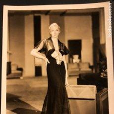 Cine: FOTO ORIGINAL MGM DE VIRGINIA BRUCE 25 X 20 CM. Lote 190136656
