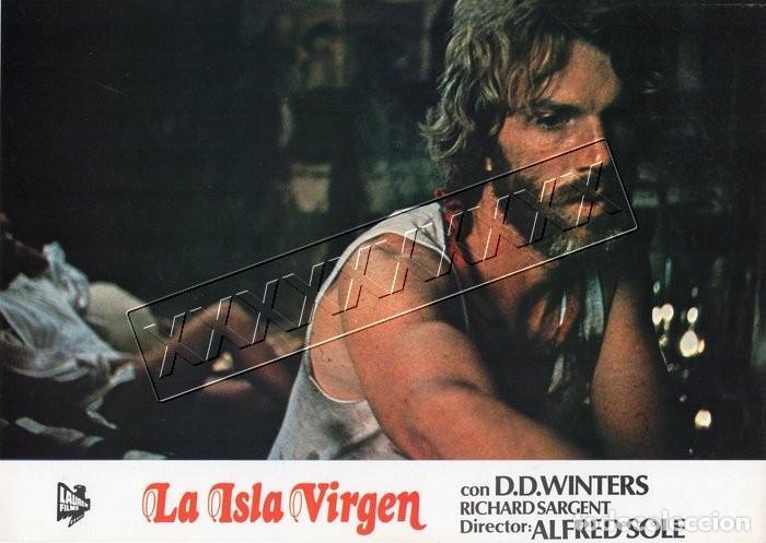 Cine: LA ISLA VIRGEN. 13 FOTOCROMOS - Foto 7 - 190381662