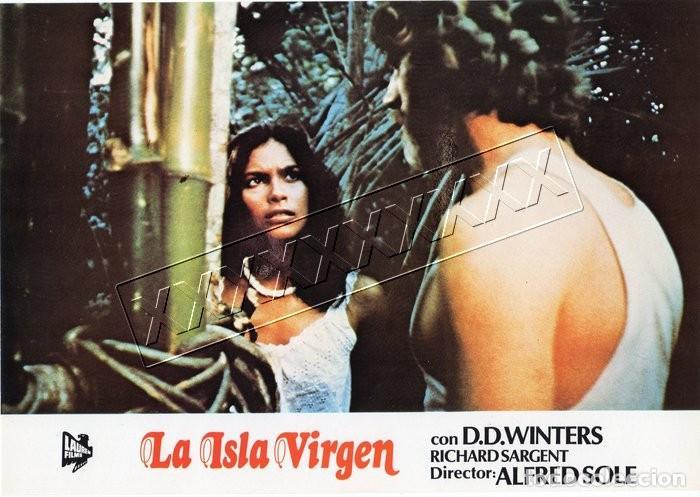 Cine: LA ISLA VIRGEN. 13 FOTOCROMOS - Foto 9 - 190381662