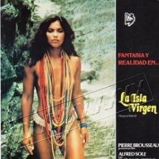 Cine: LA ISLA VIRGEN. 13 FOTOCROMOS. Lote 190381662