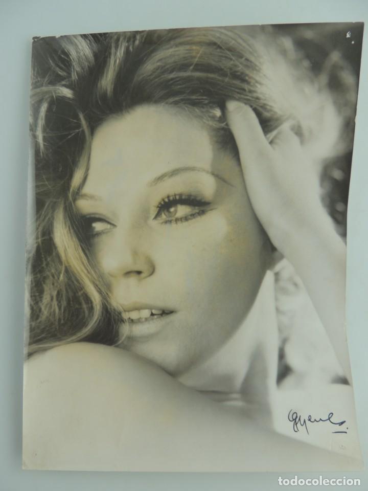 FOTO FOTOGRAFÍA DE GRAN ACTRIZ ANALIA GADE (Cine - Fotos y Postales de Actores y Actrices)