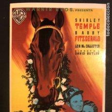 Cinema: TARJETA POSTAL RIENDA SUELTA.SHIRLEY TEMPLE. Lote 190721655