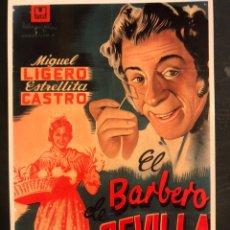 Cine: TARJETA POSTAL EL BARBERO DE SEVILLA ESTRELLITA CASTRO. Lote 190721968