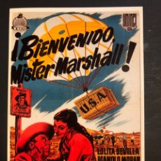 Cine: TARJETA POSTAL BIENVENIDO MISTER MARSHALL LOLITA SEVILLA. Lote 218598515