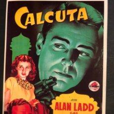 Cinema: TARJETA POSTAL CALCULA ALAN LADD. Lote 190722930
