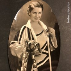 Cine: FOTO ORIGINAL DE NORMA SHEARER 22 X 12 CM. Lote 190838666