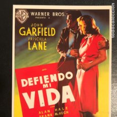 Cinema: DEFIENDO MI VIDA.JOHN GARFIELD PRISCILLA LANE. Lote 191070327