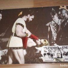 Cine: FOTOCROMO CARTÓN LA LEYENDA DE ENEAS. MEDIDAS 39 X 29 CM. Lote 191246888