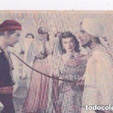 Cine: SIMBAD EL MARINO 1947 - POSTAL PUBLICITARIA. Lote 191248048