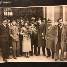 Cine: FOTO ORIGINAL DE POLA ILLERY EN BARCELONA.FOTO CARLOS PEREZ DE ROZAS.BARCELONA. Lote 191286646