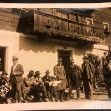 Cine: FOTO ORIGINAL RODAJE UFA EL VAGABUNDO INMORTAL.LIANE HAID GUSTAV FROHLICH.JOE MAY 18 X 13 CM. Lote 191287673