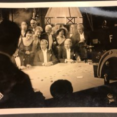 Cine: FOTO ORIGINAL RODAJE UFA EL CAPITAN CRADDOCK.CHARLES REGIE KATHE VON NAGY.ERICH POMMER 18 X 13 CM. Lote 191310620