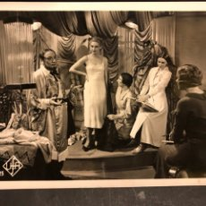 Cine: FOTO ORIGINAL UFA LEON BELIERES Y ALSONIA.JONNY ALTA COSTURA 18 X 13 CM. Lote 191365533