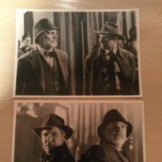 Cine: DOS FOTOGRAFIAS DE LA PELICULA INDIANA JONES Y LA ULTIMA CRUAZADA MAGAPHOTO.24 X 17,8 CMS . Lote 191402242