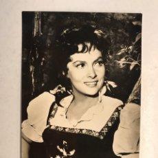 Cine: CINE. ACTORES Y ACTRICES. FOTO POSTAL NO.1541, GINA LOLLOBRIGIDA, ACTRIZ ITALIANA (H.1950?). Lote 191655330