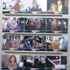 Cine: AVENTURAS EN LA GRAN CIUDAD, ELISABETH SHUE, KEITH COOGAN, AÑO 1987 - SET COMPLETO 12 FOTOCROMOS. Lote 191716833