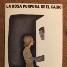 Cine: LA ROSA PÚRPURA DEL CAIRO (WOODY ALLEN). POSTAL SIN CIRCULAR PROMOCIONAL LAUREN FILMS.. Lote 191849498