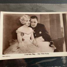 Cine: CHARLES RAY - MAI MAC AVOY. FOTO POSTAL (14X9CM). Lote 191896241