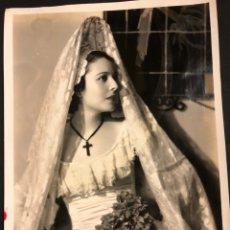 Cine: FOTO ORIGINAL UNIVERSAL PICTURES DE LUPITA TOVAR.FOTO FREULICH 25 X 20 CM. Lote 191904255