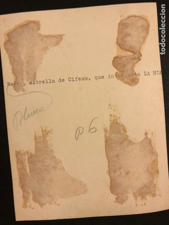 Cine: Foto original de blanca negri 16,5 x 12,5 cm - Foto 2 - 191906151