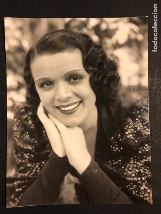 FOTO ORIGINAL DE BLANCA NEGRI 16,5 X 12,5 CM (Cine - Fotos y Postales de Actores y Actrices)