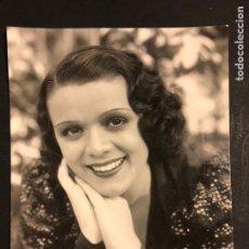 Cine: FOTO ORIGINAL DE BLANCA NEGRI 16,5 X 12,5 CM. Lote 191906151