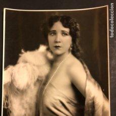 Cine: FOTO ORIGINAL DE CARMEN CASTILLO.FOTO CURTIS BILTMORE 24 X 19 CM. Lote 191907541