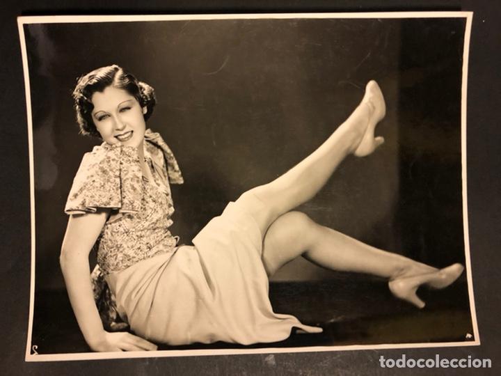 FOTO ORIGINAL DE ROSITA BALLESTEROS 23 X 17 CM (Cine - Fotos y Postales de Actores y Actrices)
