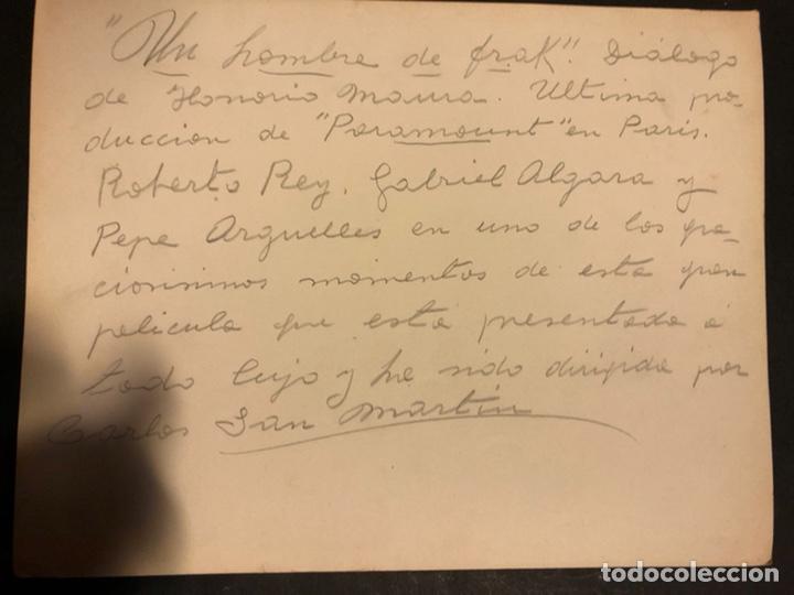 Cine: Foto original de roberto rey,Gabriel Algara y Pepe Arguelles 25 x 20 cm - Foto 2 - 191917562